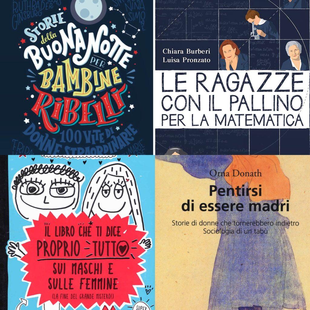 8 marzo, libri e strumenti per donne e bambine